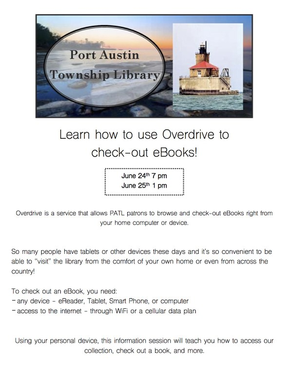 Overdrive Info Sessions